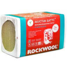 ROCKWOOL / РОКВУЛ Акустик Баттс 100 мм